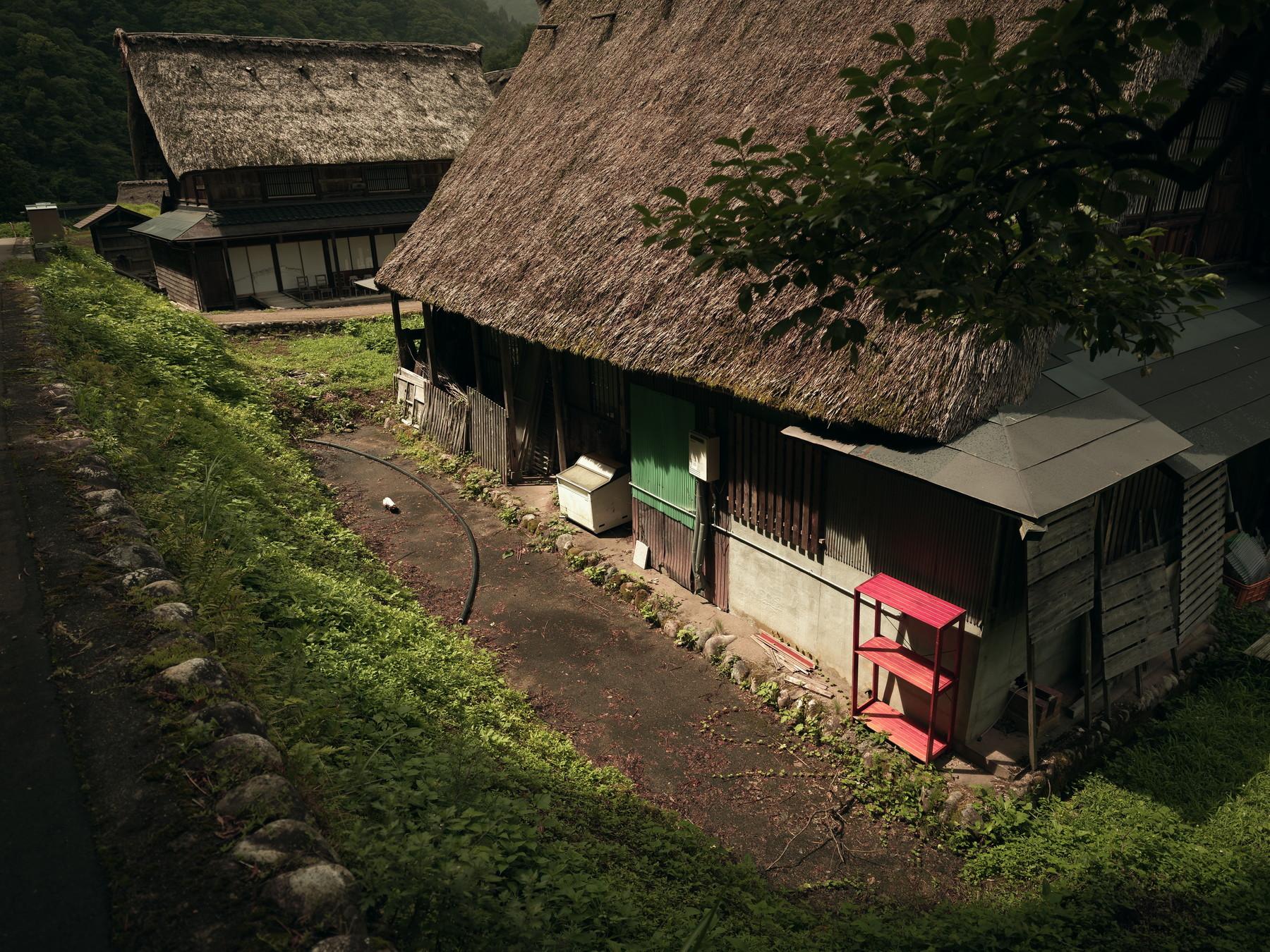 五箇山の暮らし(菅沼集落)の作例写真