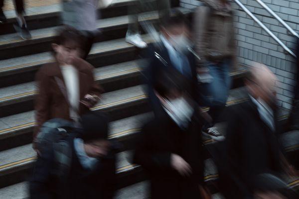 通勤時間の作例写真