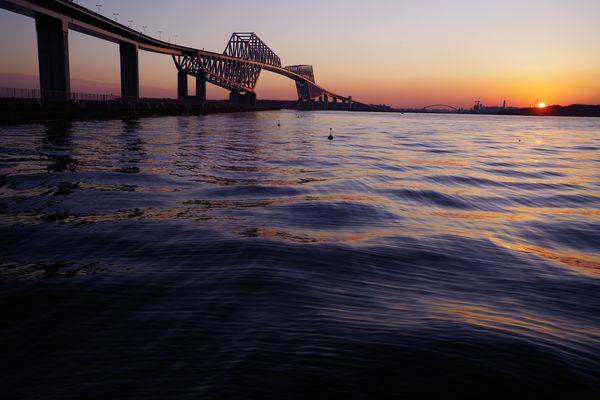 リバーサルフィルムで撮った東京ゲートブリッジの作例写真