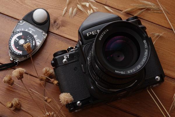 おばけと呼ばれるPENTAXの一眼レフカメラの作例写真