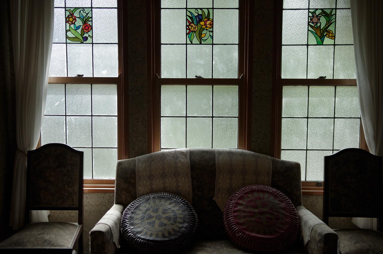 大正浪漫の窓辺の作例写真