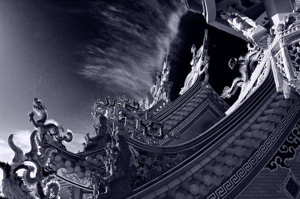 天を衝く龍の作例写真