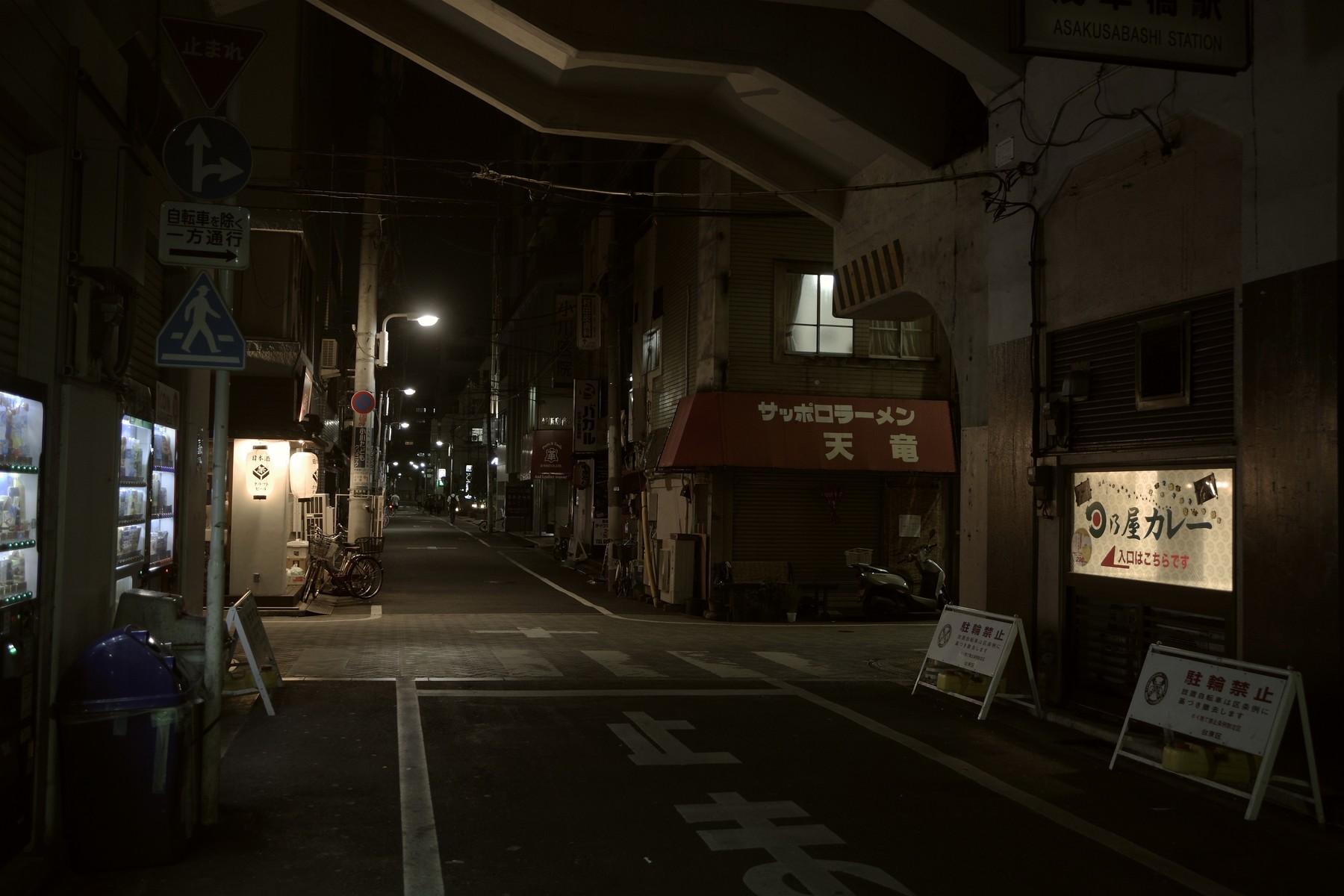 浅草橋駅前の高架下の作例写真