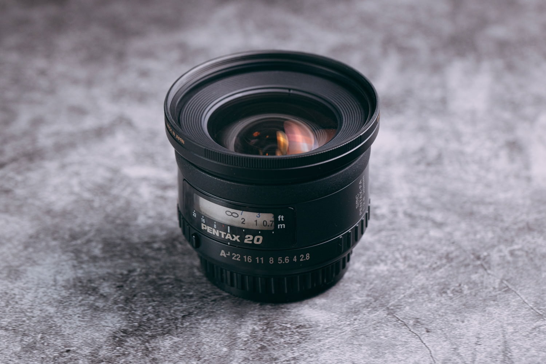 smc Pentax-FA 20mm F2.8の写真