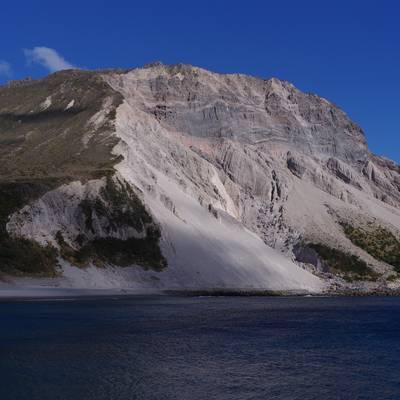 神津島の砂糖山の作例写真